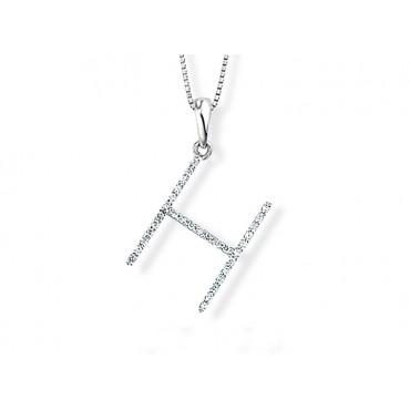 Precious Jewellery Babette Wasserman Letter Necklace H £690.00