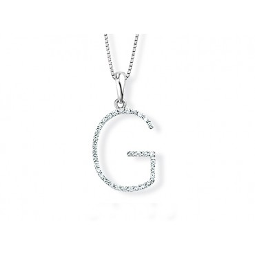 Precious Jewellery Babette Wasserman Letter Necklace G £690.00