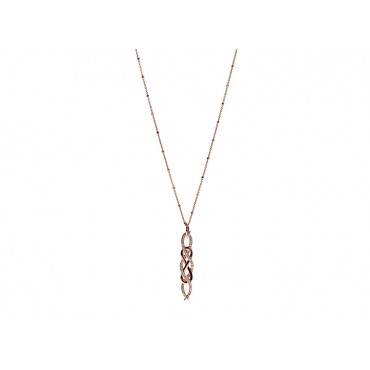 Necklaces Babette Wasserman Poison Ivy Necklace Rose Gold £121.00