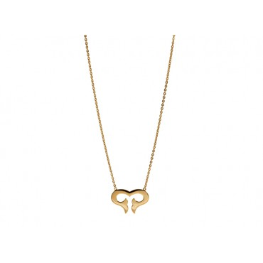 Necklaces Babette Wasserman Flame Necklace Gold £110.00