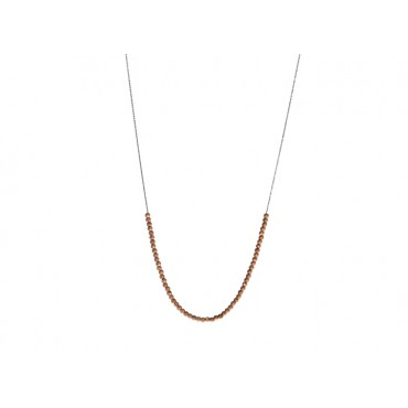 Necklaces Babette Wasserman Moon Ball Sky Necklace Rose Gold £82.00