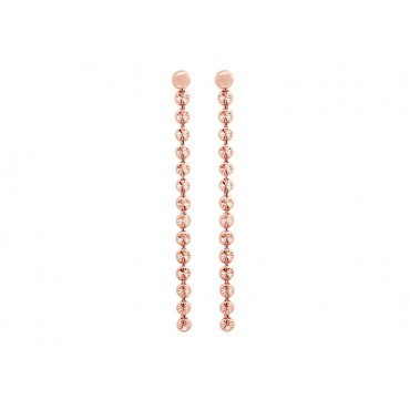 Earrings Babette Wasserman Moondust Drop Earrings Rose Gold £70.00