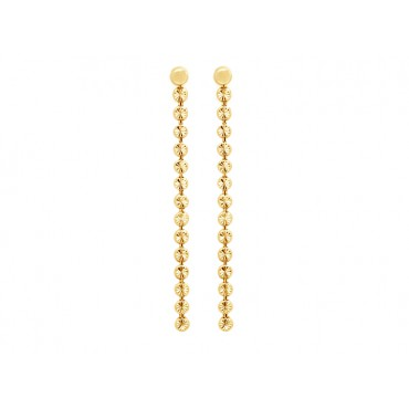 Earrings Babette Wasserman Moondust Drop Earrings Gold £70.00