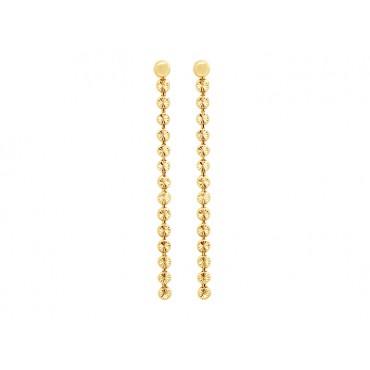 Earrings Babette Wasserman Moondust Drop Earrings Gold £70.00
