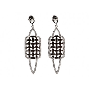 Earrings Babette Wasserman Istanbul Earrings Silver £146.00