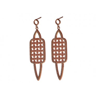 Earrings Babette Wasserman Istanbul Earrings Rose Gold £170.00