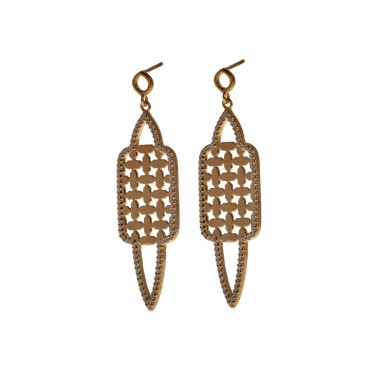 Earrings Babette Wasserman Istanbul Earrings Gold £170.00