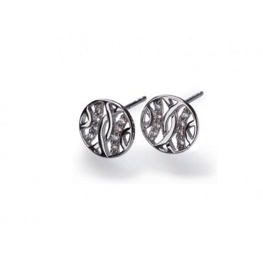 Earrings Babette Wasserman Espalier Earrings Silver £82.00