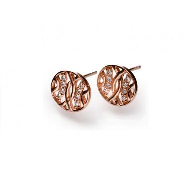 Earrings Babette Wasserman Espalier Earrings Rose Gold £86.00