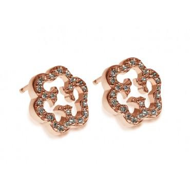 Earrings Babette Wasserman Cloud Earrings Rose Gold £80.00
