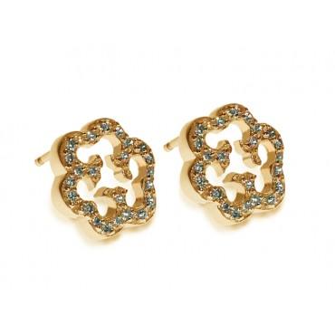 Earrings Babette Wasserman Cloud Earrings Gold £80.00