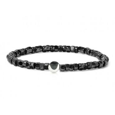 Bracelets Babette Wasserman Ying Yang Bracelet Hematite £73.00