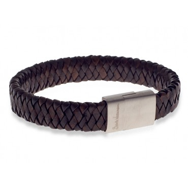 Bracelets Babette Wasserman Demon Flat Weave Bracelet Brown £60.00
