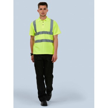 Poloshirts Uneek Clothing Uc805 Hi-Viz Polo Shirt £14.00