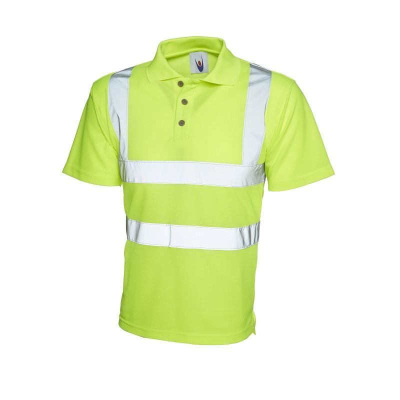 Poloshirts Uneek Clothing Uc805 Hi-Viz Polo Shirt £14.00
