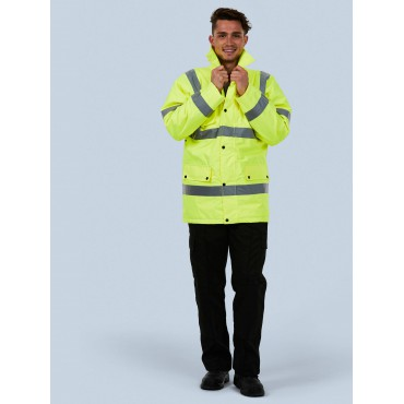 Jackets Uneek Clothing Uc803 Road Safety Jacket £21.00