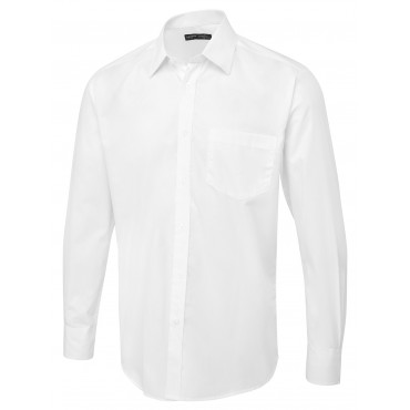 Shirts Uneek Clothing Uc713 Mens Tailored Fit Long Sleeve Poplin Shirt £14.00