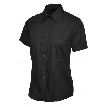 Shirts Uneek Clothing Uc712 Ladies Poplin Half Sleeve Shirt £10.00