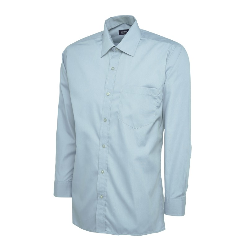 Shirts Uneek Clothing Uc709 Mens Poplin Full Sleeve Shirt £14.00