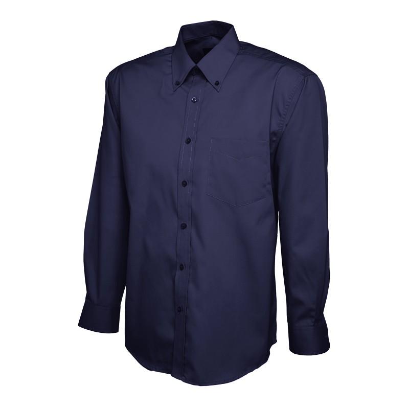 Shirts Uneek Clothing Uc701 Mens Pinpoint Oxford Full Sleeve Shirt £15.00