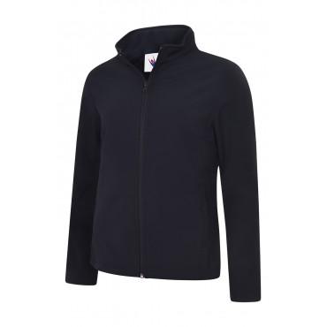 Jackets Uneek Clothing Uc613 Ladies Classic Full Zip Soft Shell Jacket £23.00