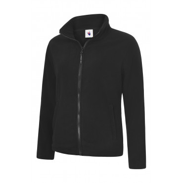 Jackets Uneek Clothing Uc608 Ladies Classic Full Zip Fleece Jacket £12.00