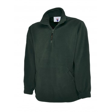 Jackets Uneek Clothing Uc602 Premium 1 4 Zip Micro Fleece Jacket £15.00