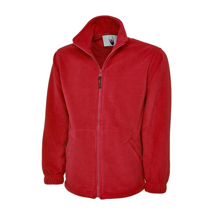 Jackets Uneek Clothing Uc601 Premium Full Zip Micro Fleece Jacket £20.00