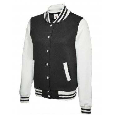 Jackets Uneek Clothing Uc526 Ladies Varsity Jacket £20.00