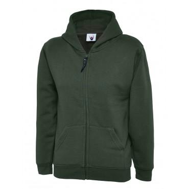 Sweatshirts Uneek Clothing Uc506 Childrens Classic Full Zip Hooded Sweatshirt £14.00