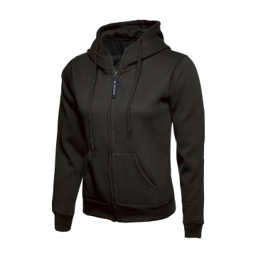 Sweatshirts Uneek Clothing Uc505 Ladies Classic Full Zip Hooded Sweatshirt £16.00