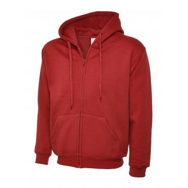 Sweatshirts Uneek Clothing Uc504 Adults Classic Full Zip Hooded Sweatshirt £16.00