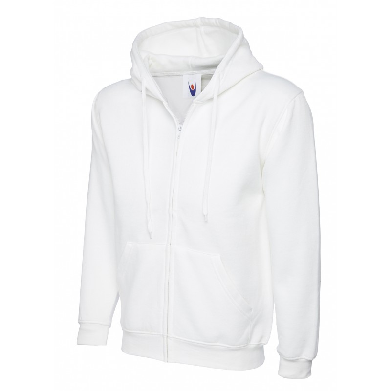 Sweatshirts Uneek Clothing Uc504 Adults Classic Full Zip Hooded Sweatshirt £16.00