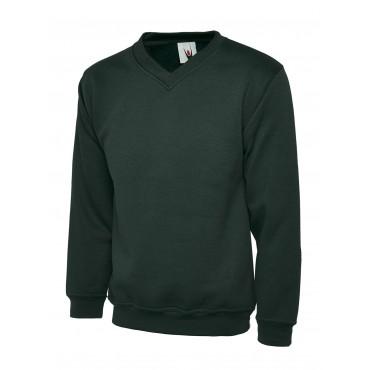 Sweatshirts Uneek Clothing Uc206 Childrens V Neck Sweatshirt £10.00