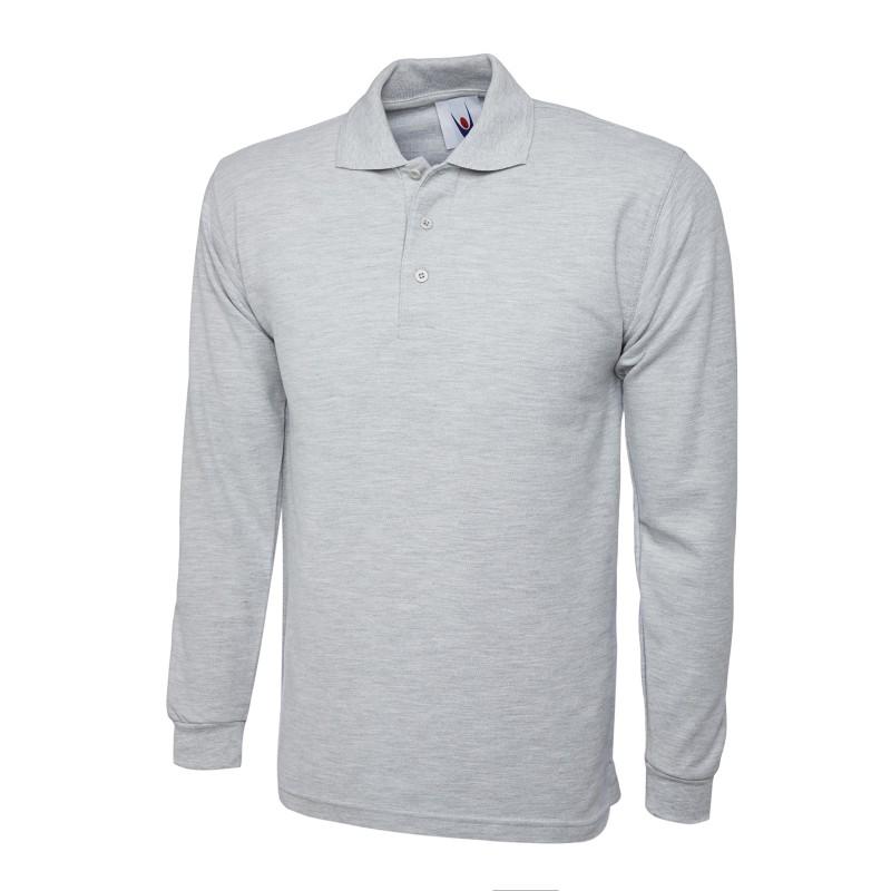 Poloshirts Uneek Clothing Uc113 Longsleeve Poloshirt £10.00