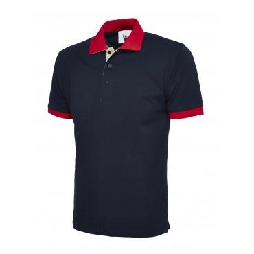 Poloshirts Uneek Clothing Uc107 Contrast Poloshirt £11.00
