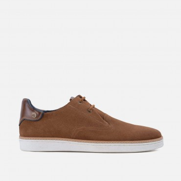 New Arrivals - SS20 GoodwinSmith Mens Santiago Tan Suede Plimsoll £60.00