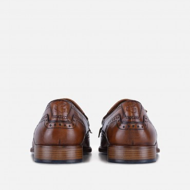 New Arrivals - SS20 GoodwinSmith Mens Sebastian Tan Fringe Loafer £66.00