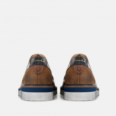 Last 5 pairs remaining! All prices reduced! GoodwinSmith Mens Archie Tan Wedge Derby £35.00