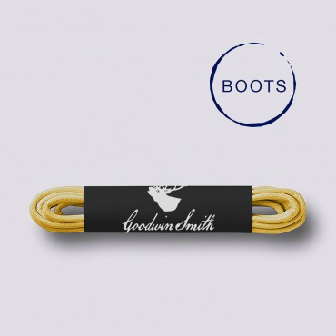 Shoe care & laces GoodwinSmith Yellow Boot Laces £10.00