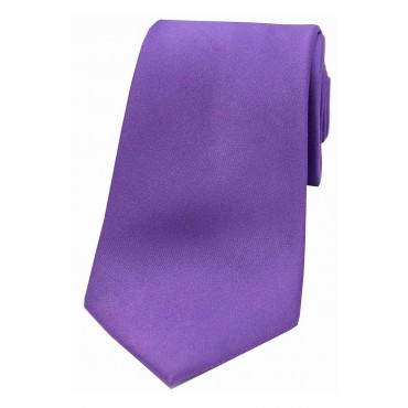 Wedding Ties Soprano Ties Soprano Purple Satin Silk Tie £27.00
