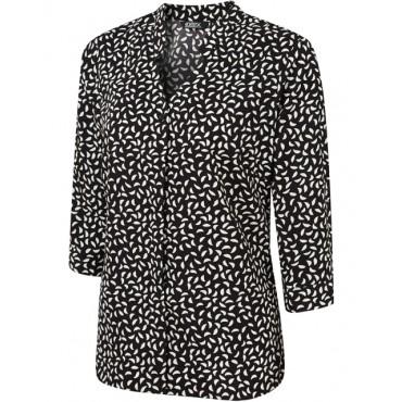 Tops Vortex Designs Sadie 3 4 Sleeve black £24.00