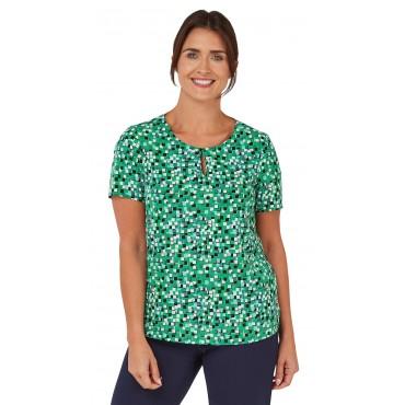 Tops Vortex Designs Kelly Short Sleeve green £21.00