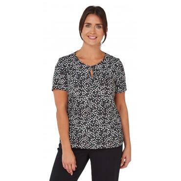 Tops Vortex Designs Imogen Short Sleeve Black £21.00