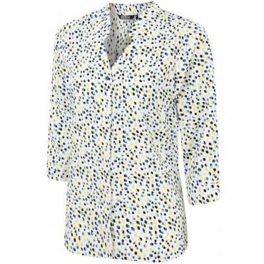 Blouses Vortex Designs April 3 4 Sleeve Yellow £24.00