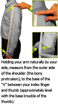 Length Sleeve Size